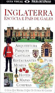 capa Guia Visual Folha de São Paulo - Inglaterra, Escócia e País de Gales