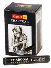 camel compressed charcoal