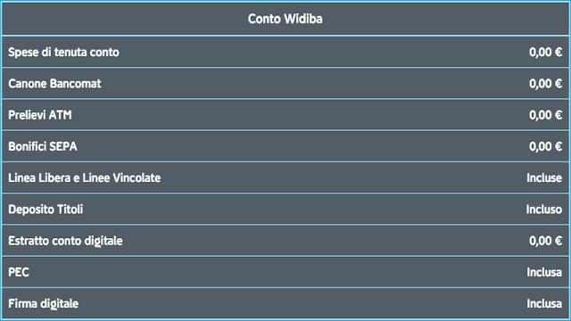Conto Widiba opinioni, commenti e recensioni