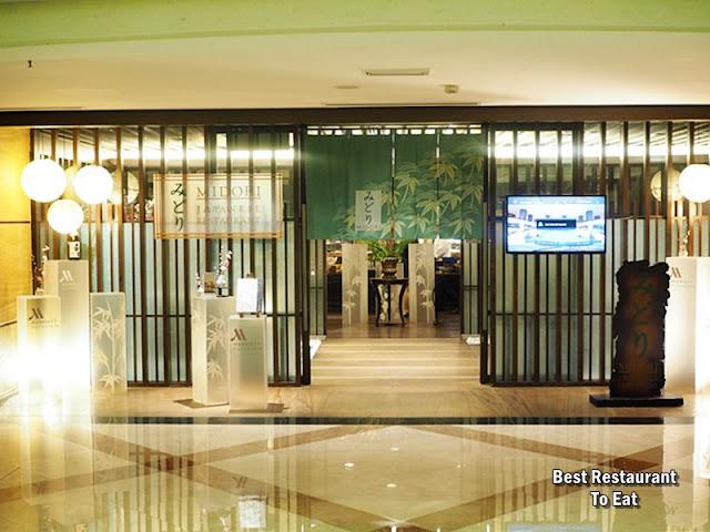Marriott Putrajaya Hotel Midori Japanese Restaurant