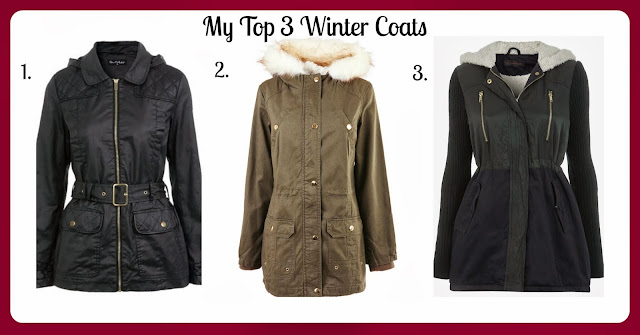 Top Three Winter Coats