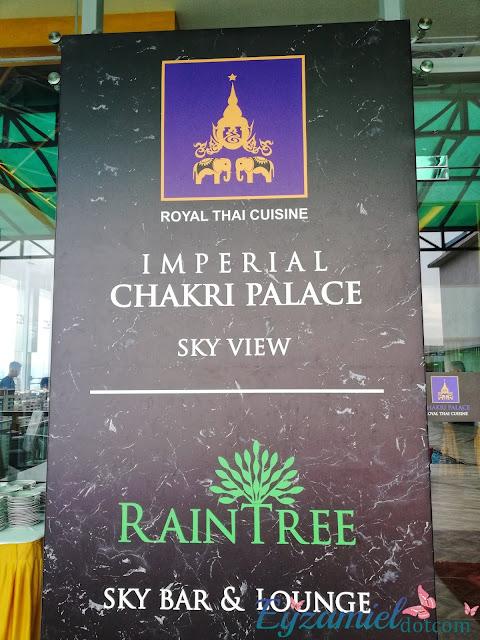 Buffet Ramadhan 2019 : Chakri Palace  Sky View Dorsett Hotel Hartamas menampilkan pemandangan Kuala Lumpur dan makanan Thailand yang sedap