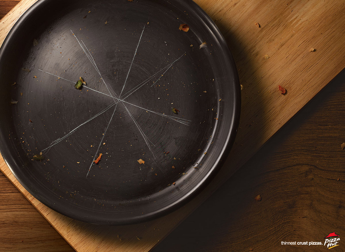 20 Creative And Cool Pizza Advertisements