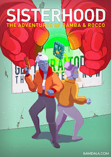 Sisterhood, the adventures of Bamba and Rocco (Bamidala)