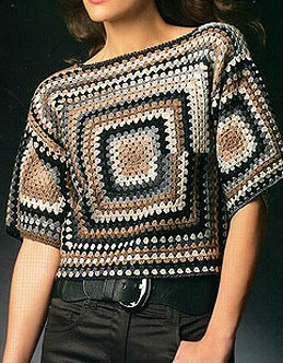 Elegant blouse crochet with step by step