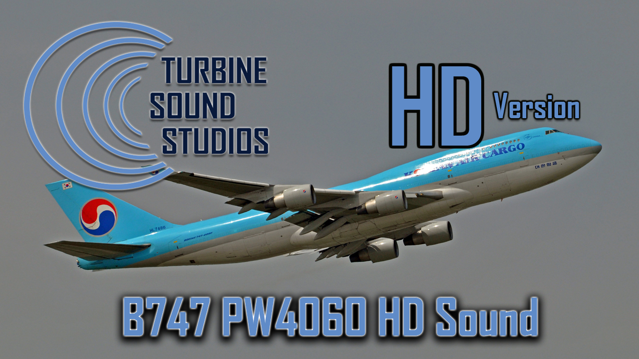 The FlightSim Store: TSS - Boeing 747 PW4060 HD Sound Pack for