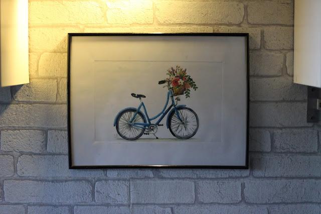 obraz rower