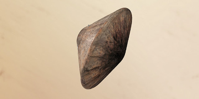 Artist impression of the Schiaparelli module after decelerating in the martian atmosphere and prior to the deployment of the parachute. Credit: ESA/ATG medialab