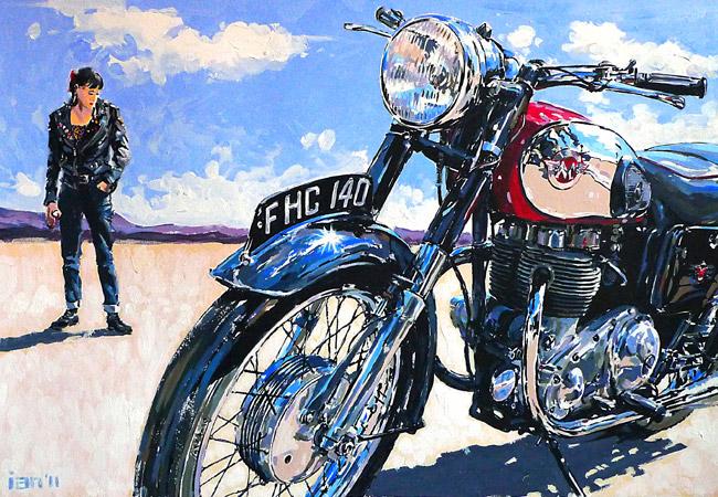 Racing Cafè: Motorcycle Art - Ian Cater