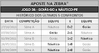 LOTECA 710 - HISTÓRICO JOGO 06