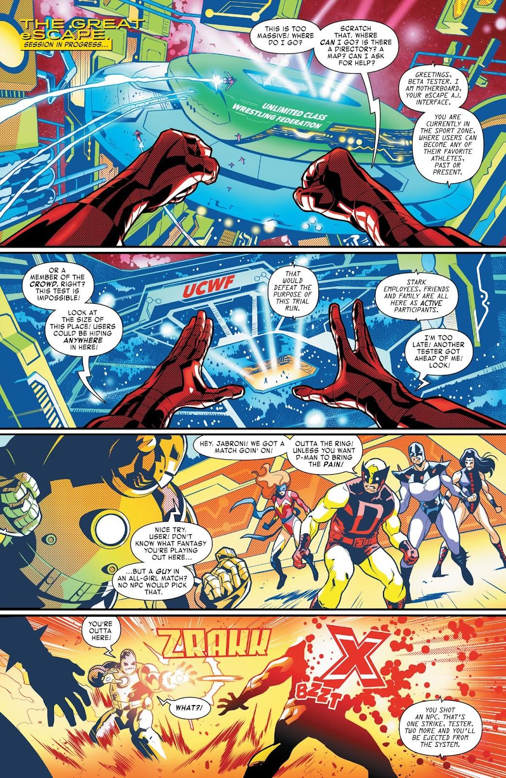 Read online Tony Stark: Iron Man comic -  Issue #3 - 9