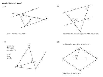 MEDIAN Don Steward mathematics teaching: parallel line