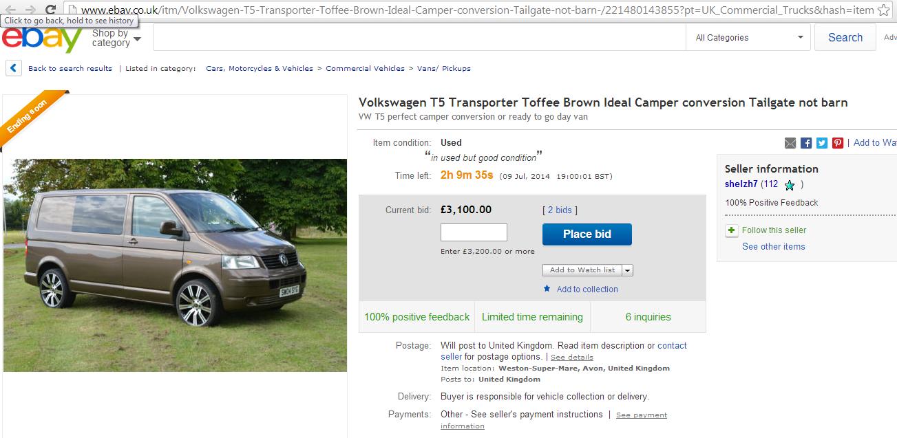 Scam** Listing: 2004 Volkswagen T5 1 9TDI Transpo - LegalBeagles Forum