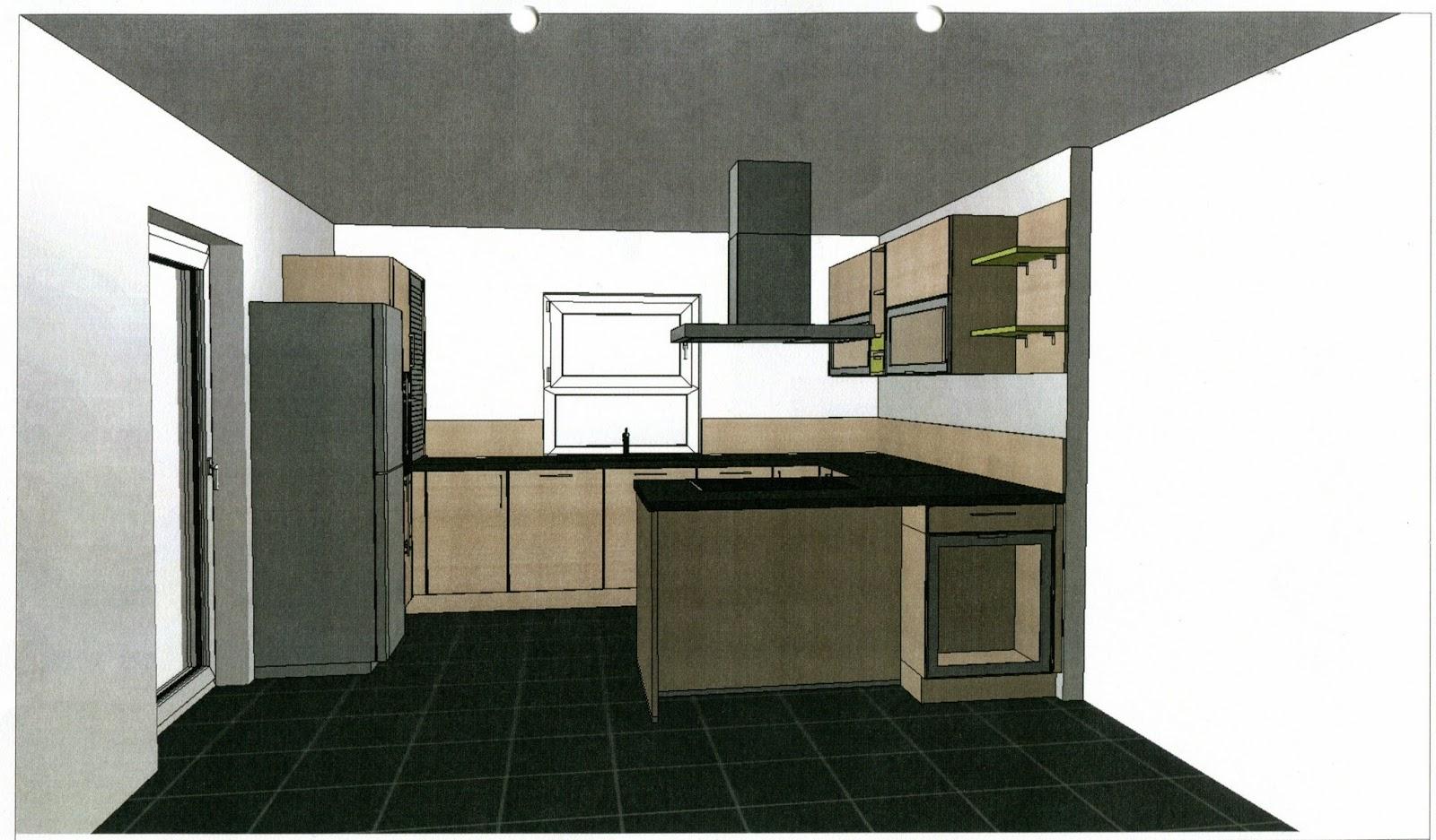 wir bauen ein haus wir haben eine neue k che. Black Bedroom Furniture Sets. Home Design Ideas