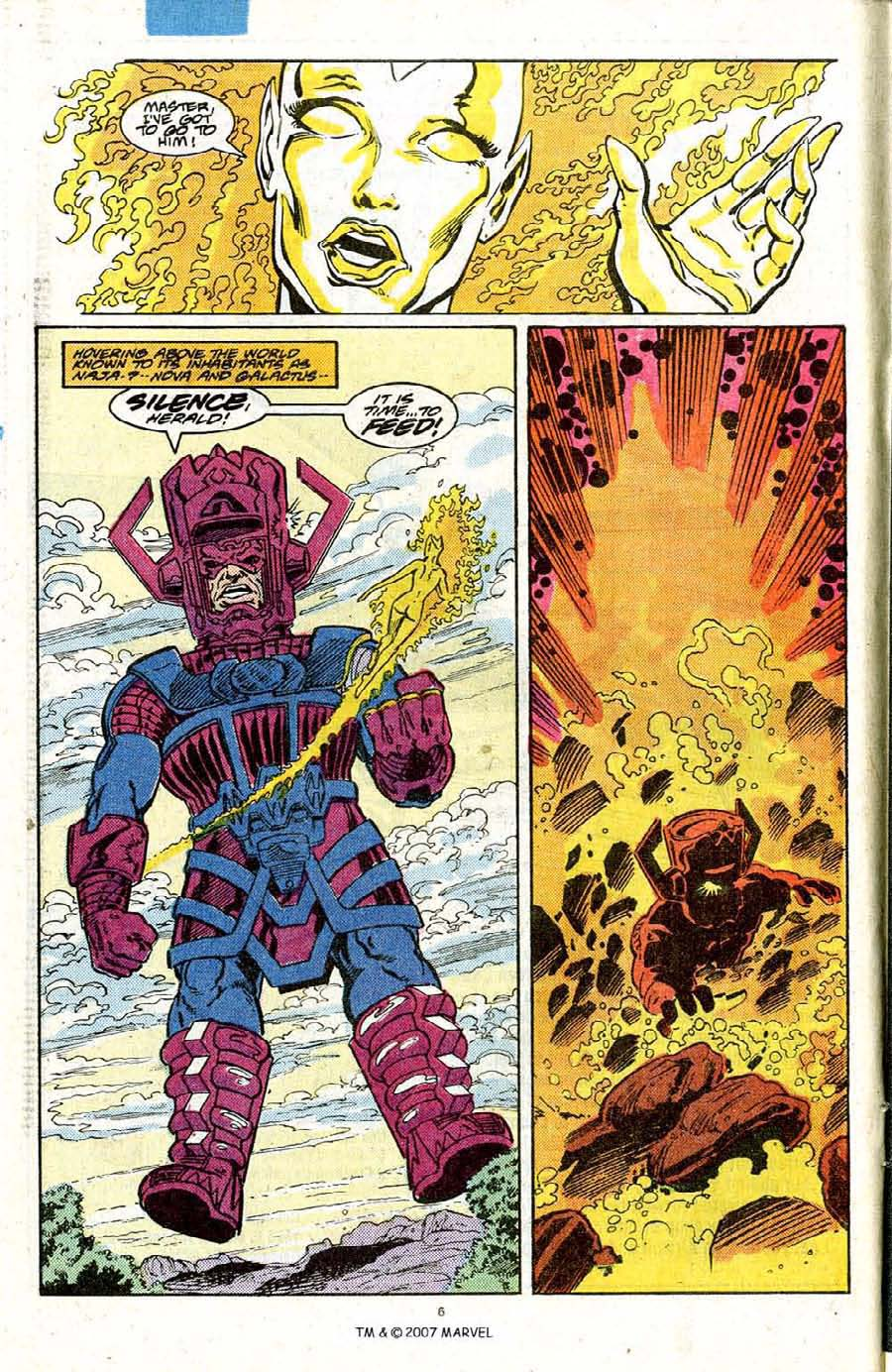 Read online Silver Surfer (1987) comic -  Issue #20 - 8