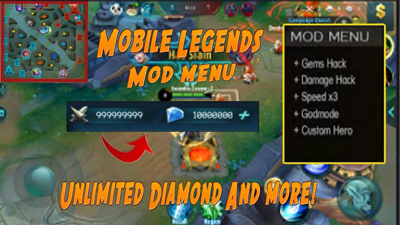 mobile legends apk hack mod