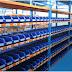 Retail Shelves Auto Parts Store