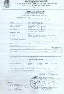 Surat Izin Usaha Industri (SIUI) | Yogos-shelter