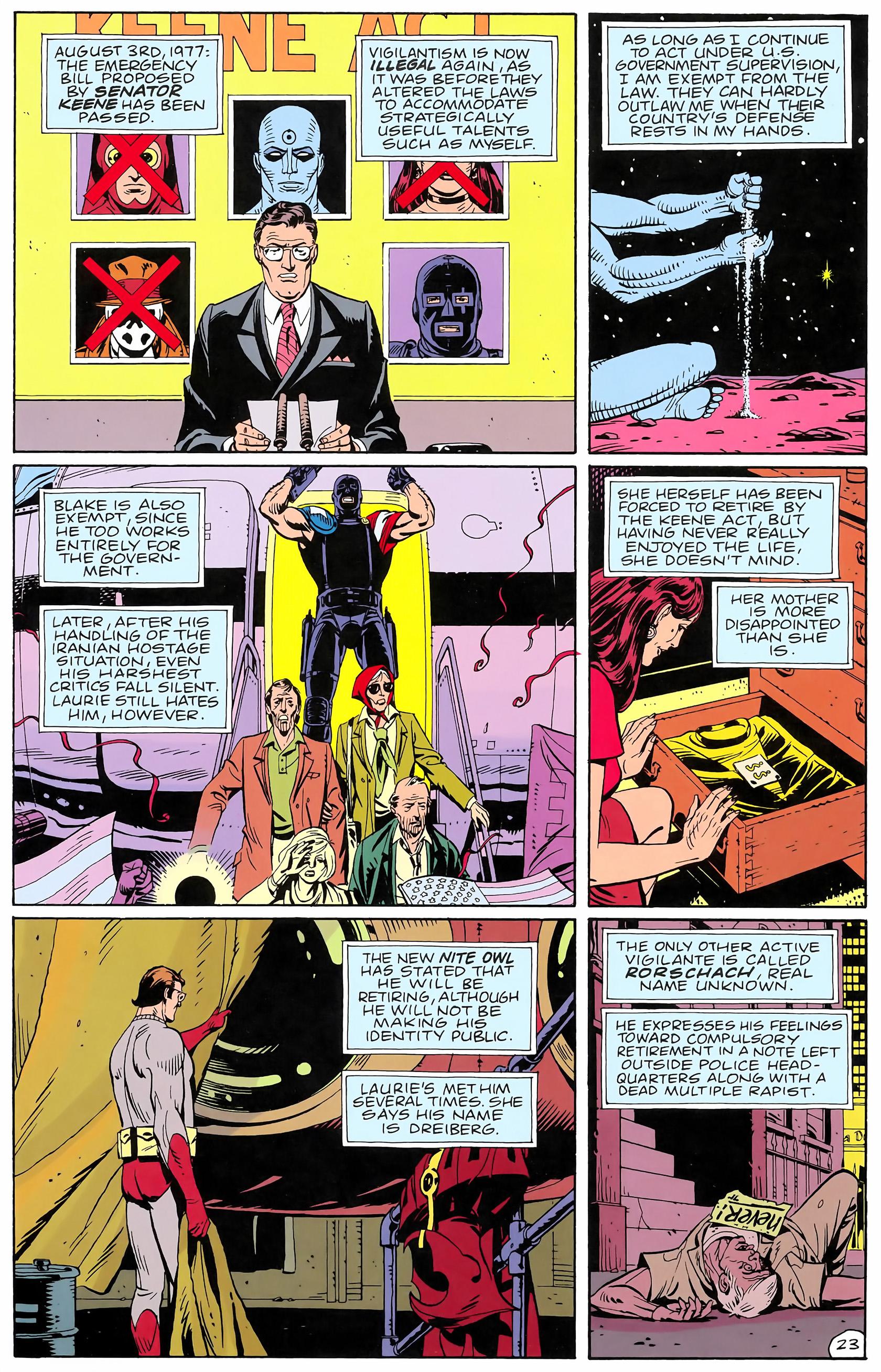 Watchmen (1986) issue 4 - Page 25