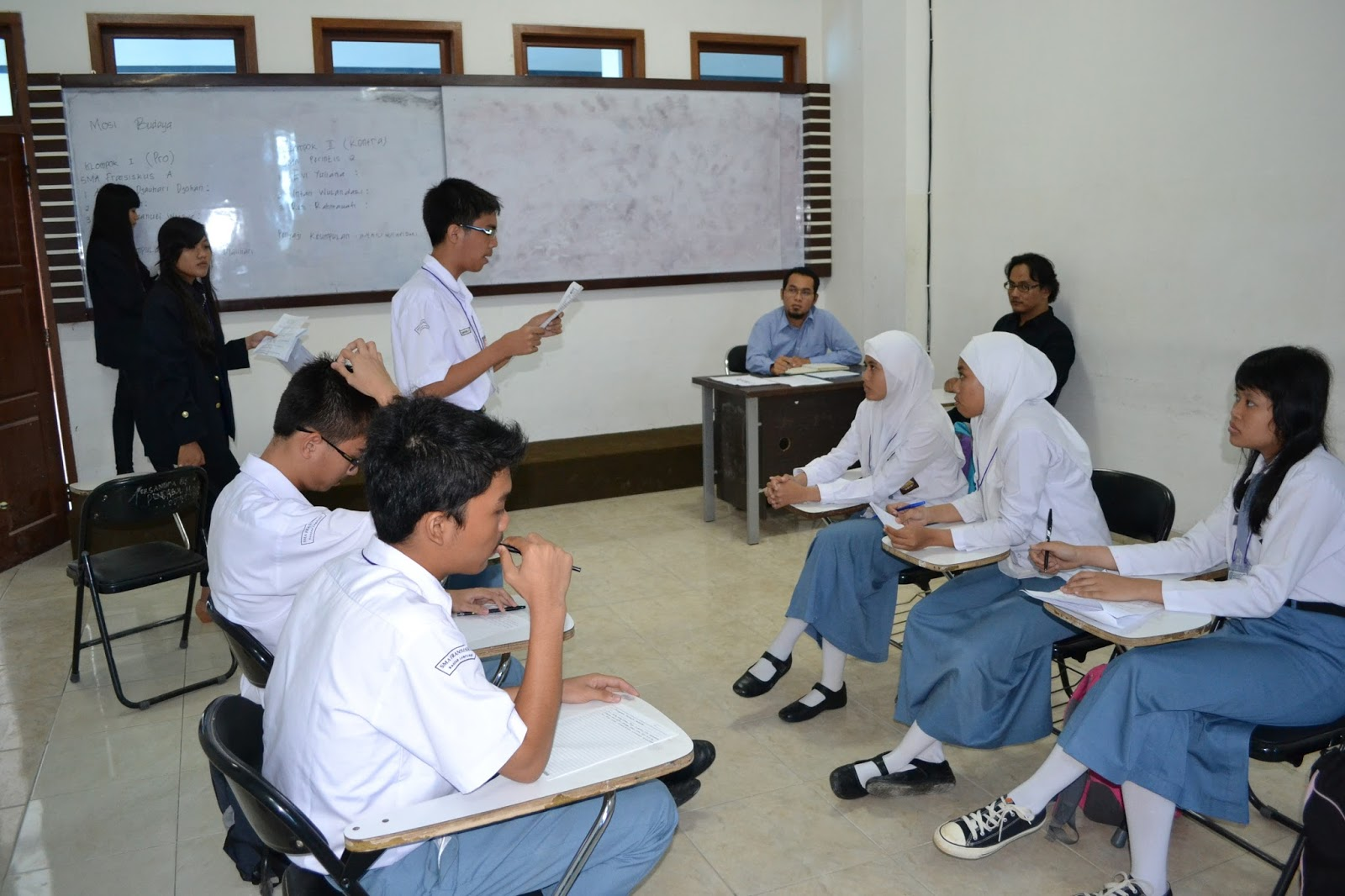 Model Pembelajaran Efektif Inovatif Dan Interaktif Debat