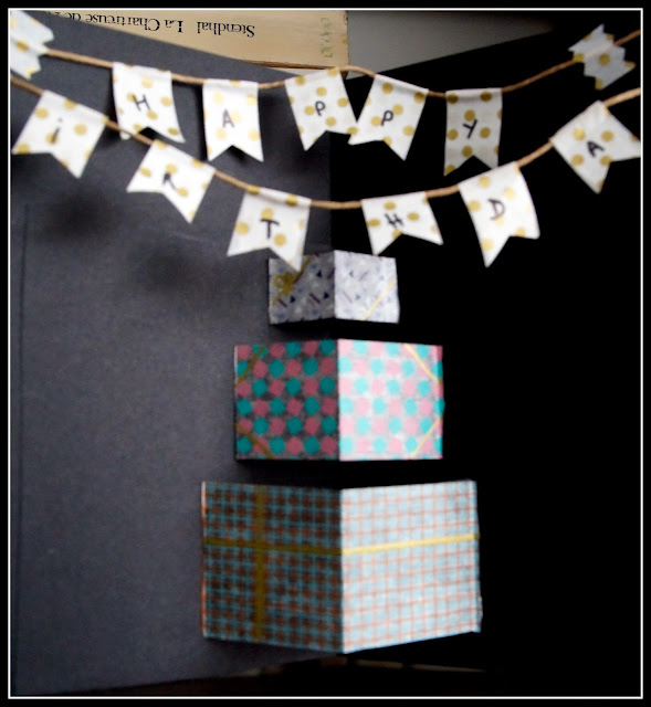 DIY carte anniversaire pop-up