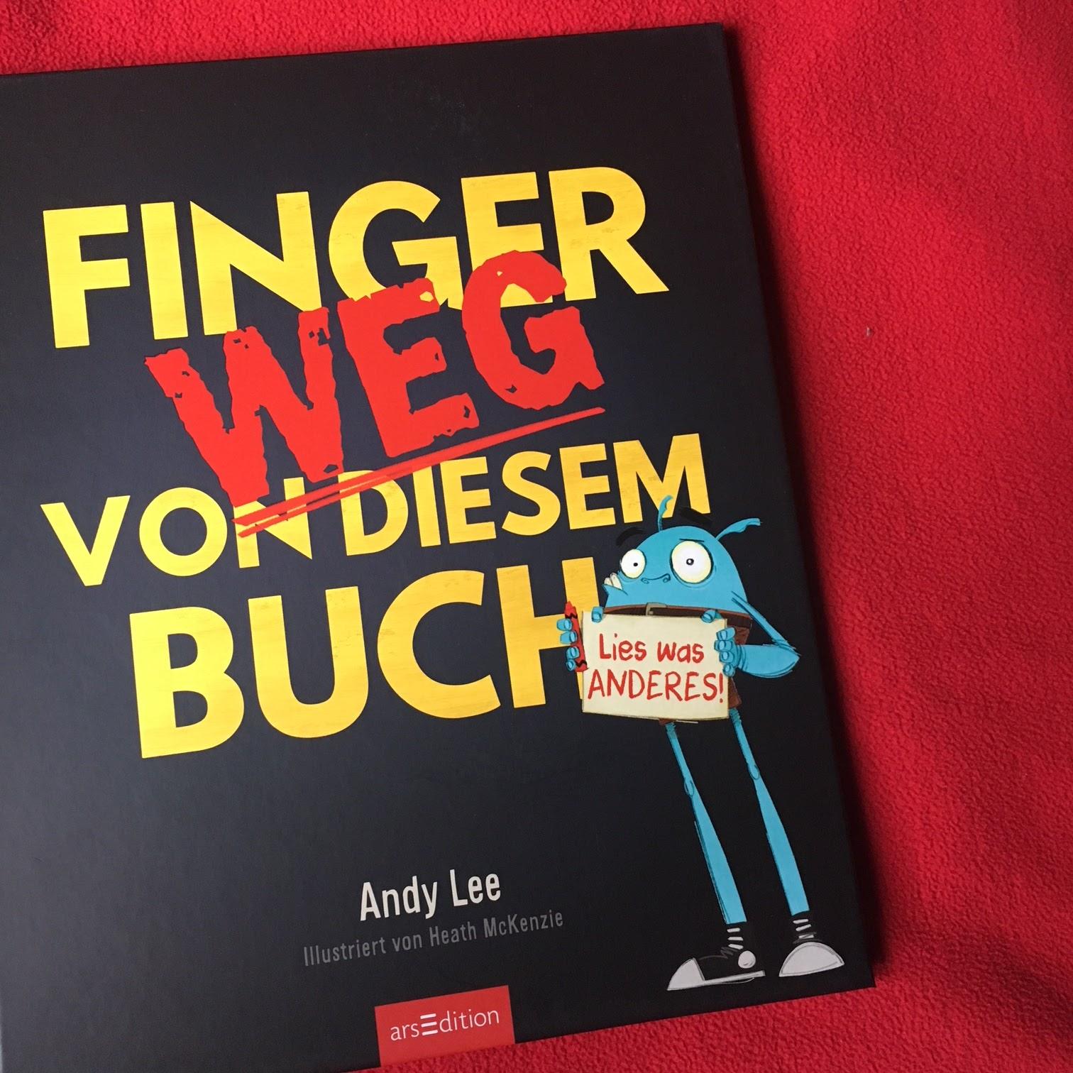 Familienbücherei: Bilderbuchwoche Tag 3: Finger weg von diesem Buch!