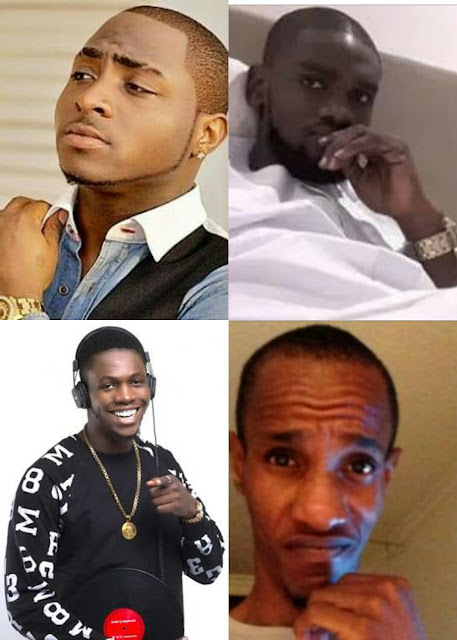 Photo of Davido, Amaechi, Olu and Tagbo