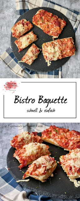 Bistro Baguette | Rezept | Pizzabaguette | Essen | Weight Watchers