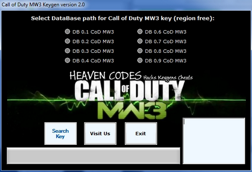 Download Games Hacks For PC: Call of Duty Modern Warfare 3