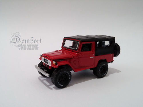 Review Johnny Lightning 1980 Toyota Land Cruiser