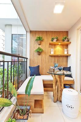 balcone minimal natural