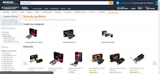 Schede video in vendita su Amazon