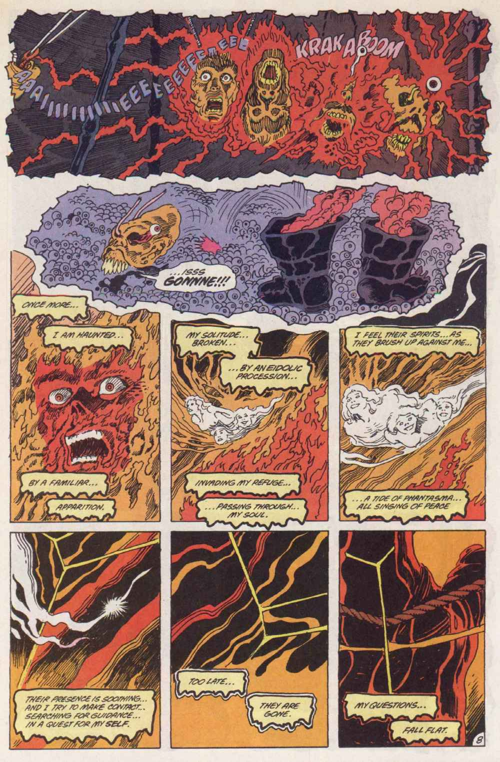 Swamp Thing (1982) Issue #90 #98 - English 9