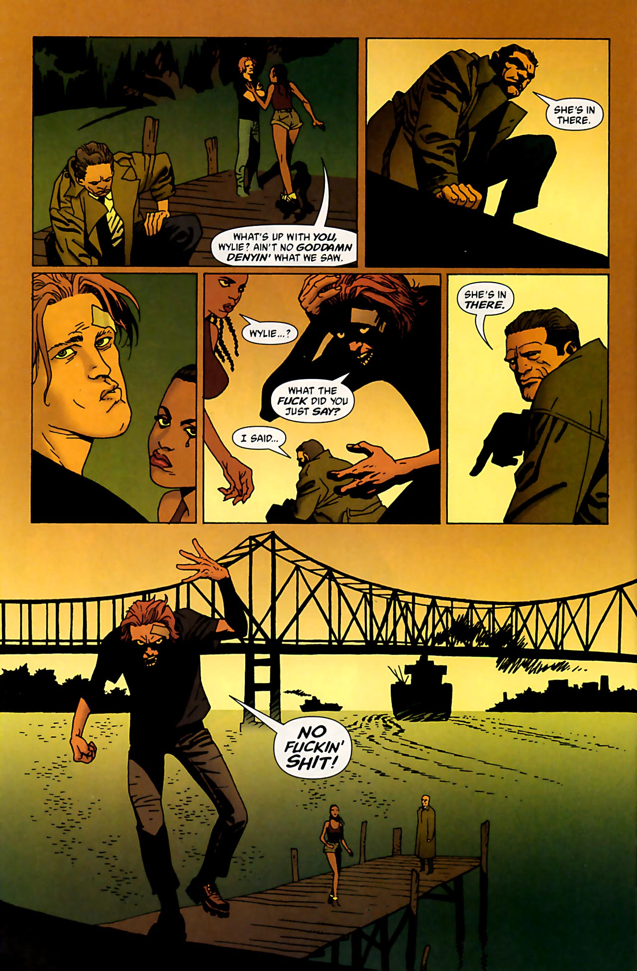 Read online 100 Bullets comic -  Issue #53 - 17
