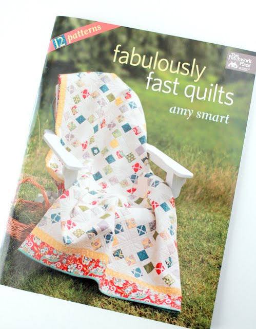 Fabulously Fast Quilts book by Amy Smart