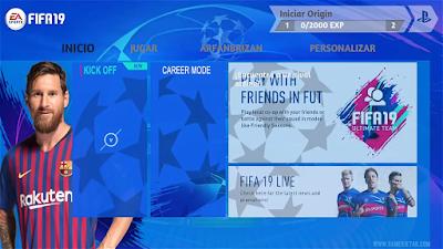 FIFA 19 Android UEFA Champions League Mod 2019