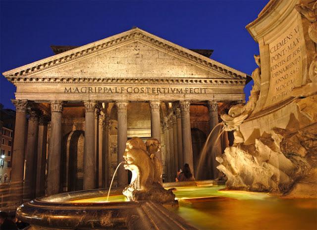 5 pontos turísticos gratuitos em Roma - panteão