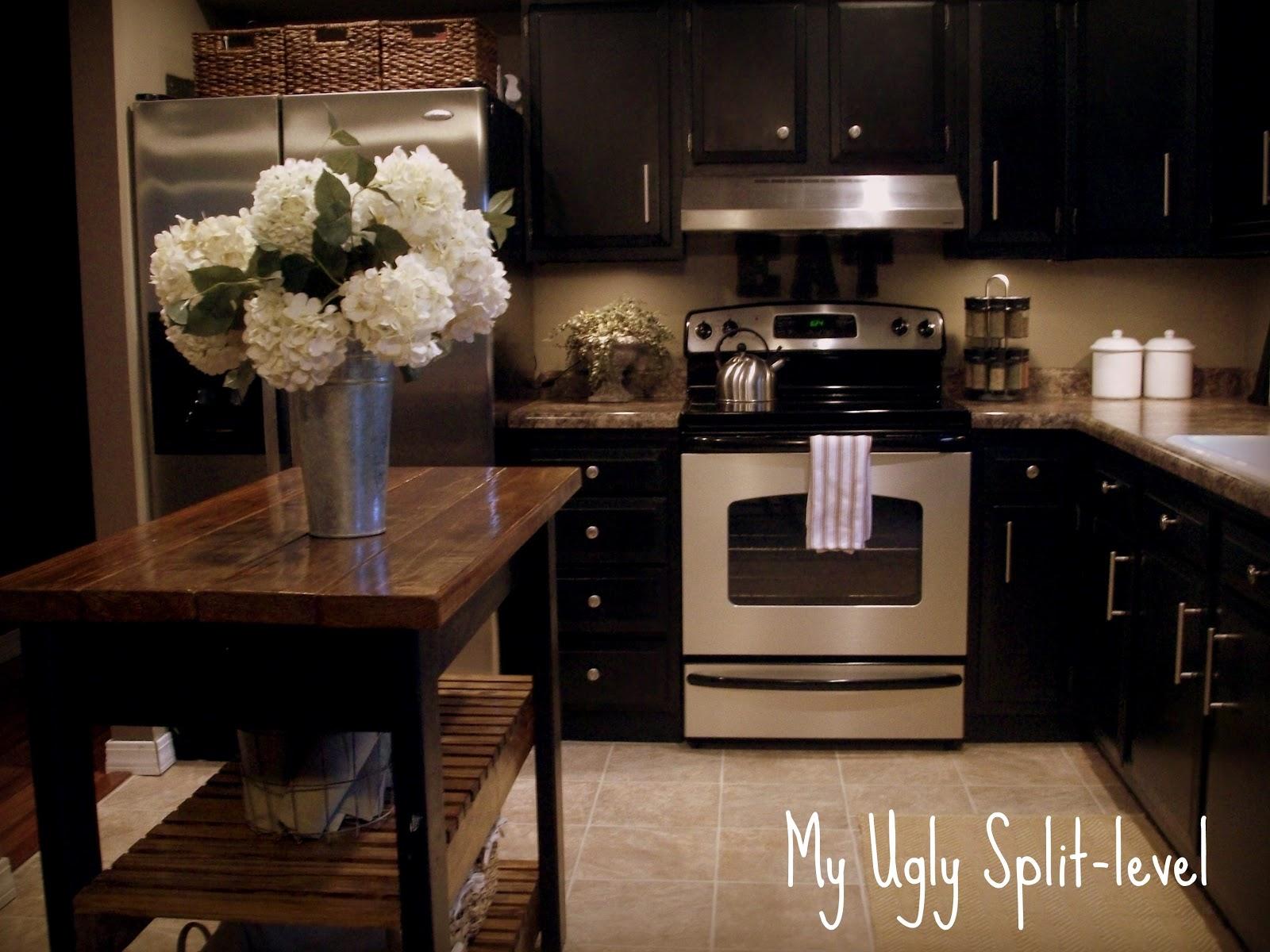 the kitchen split level kitchen remodel Phase 5