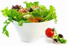 ăn rau giảm cân