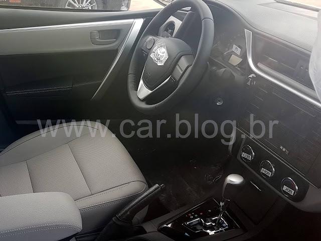 Novo Toyota Corolla Gli 2018 - Interior