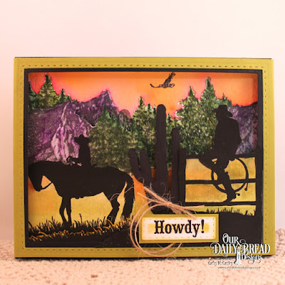 Our Daily Bread Designs Stamp Sets: Howdy, Ride 'Em Cowboy, Keep Climbing, Our Daily Bread Designs Custom Dies: Rectangles, Double Stitched Rectangles, Log Cabin Quilt