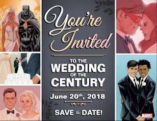 """Marvel cómics nos invita a """"La boda del siglo"""", su próxima serie"""