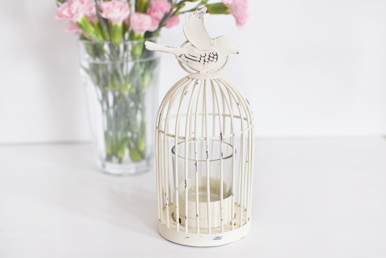birdcage lantern tealight holder