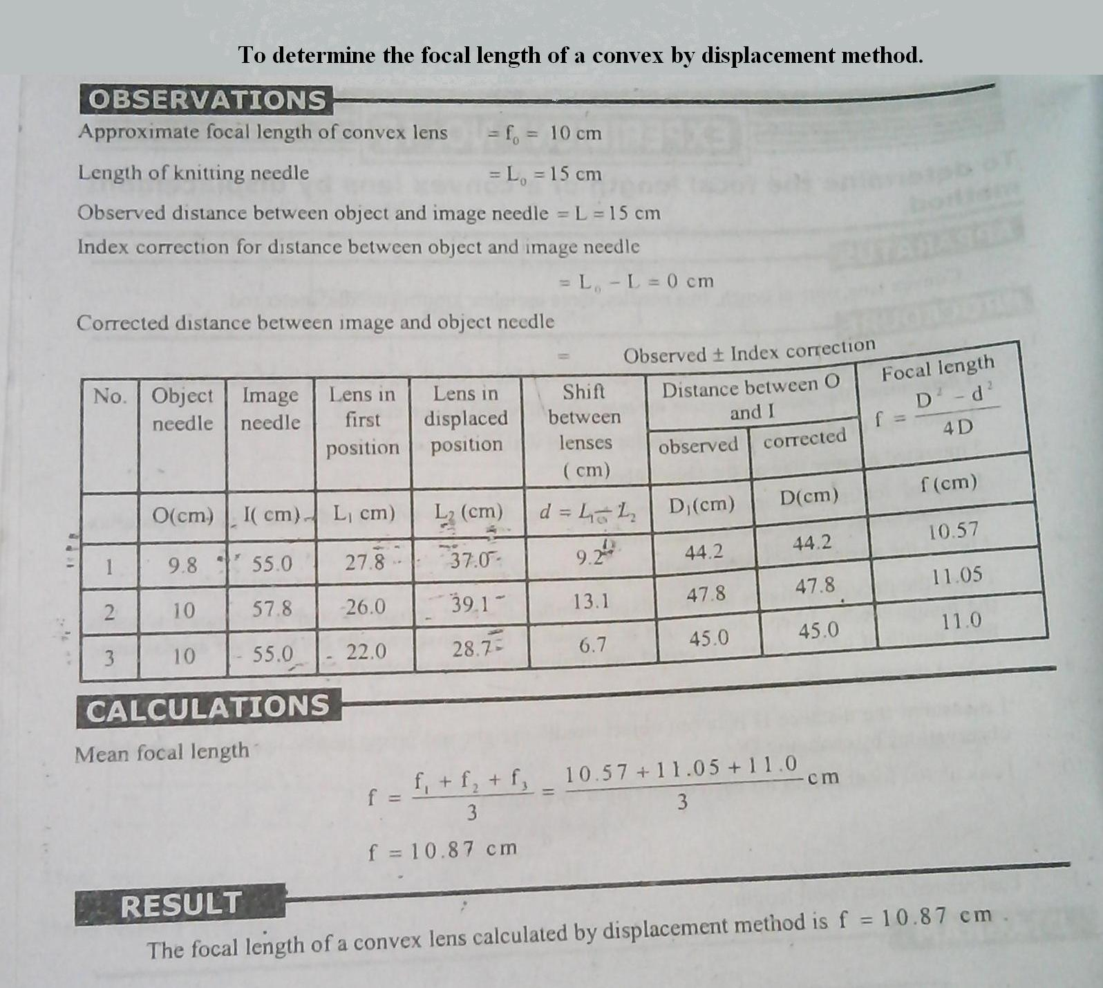 Physics Practicals : physics practicals (FSC part 1)