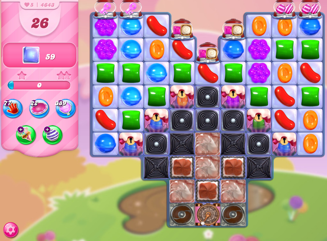 Candy Crush Saga level 4643