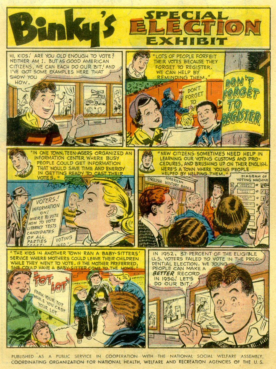 Read online Action Comics (1938) comic -  Issue #222 - 13