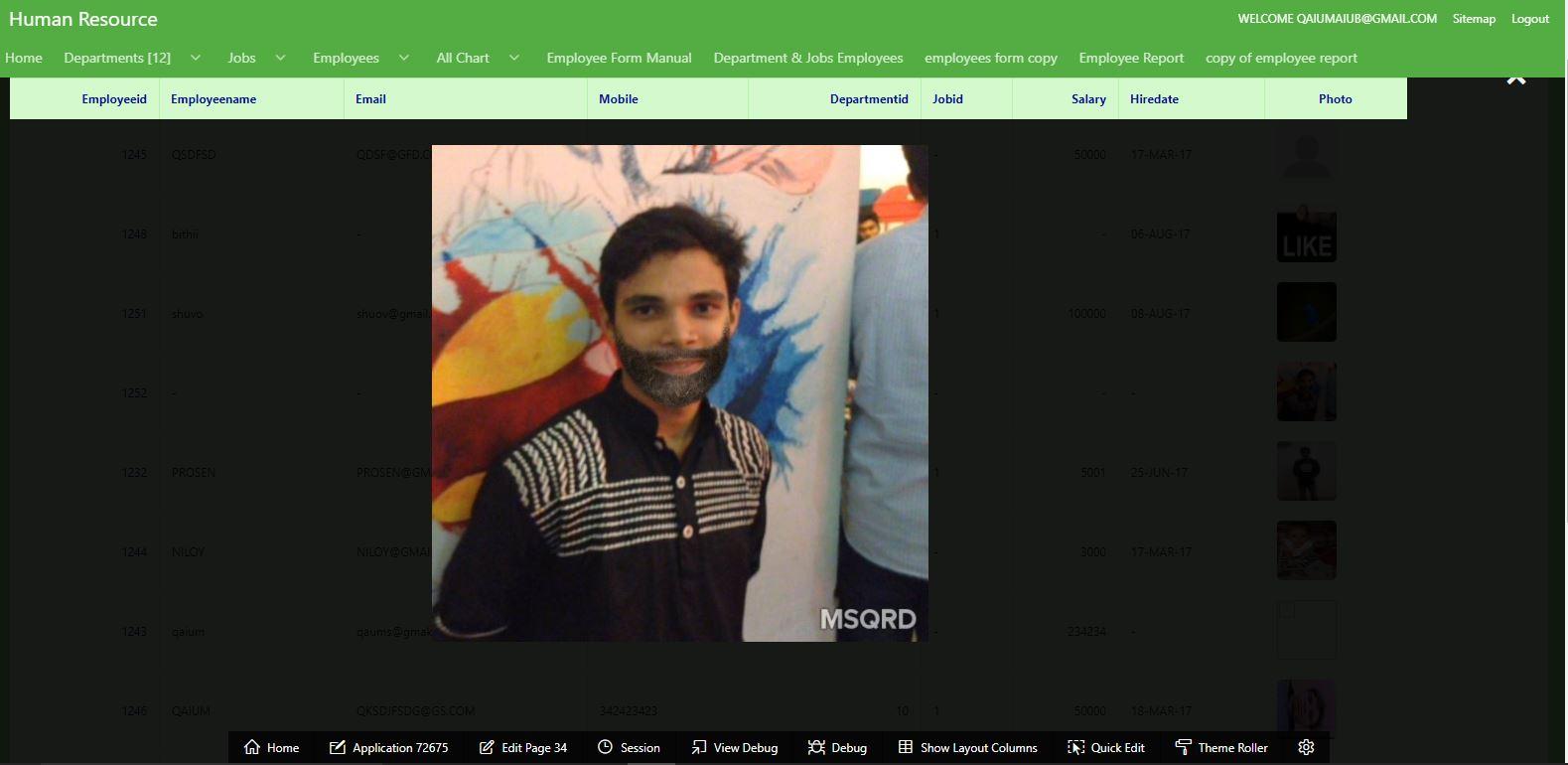 Qaium's IT Demonstration: Modal Images / Large Image / Image Zoom