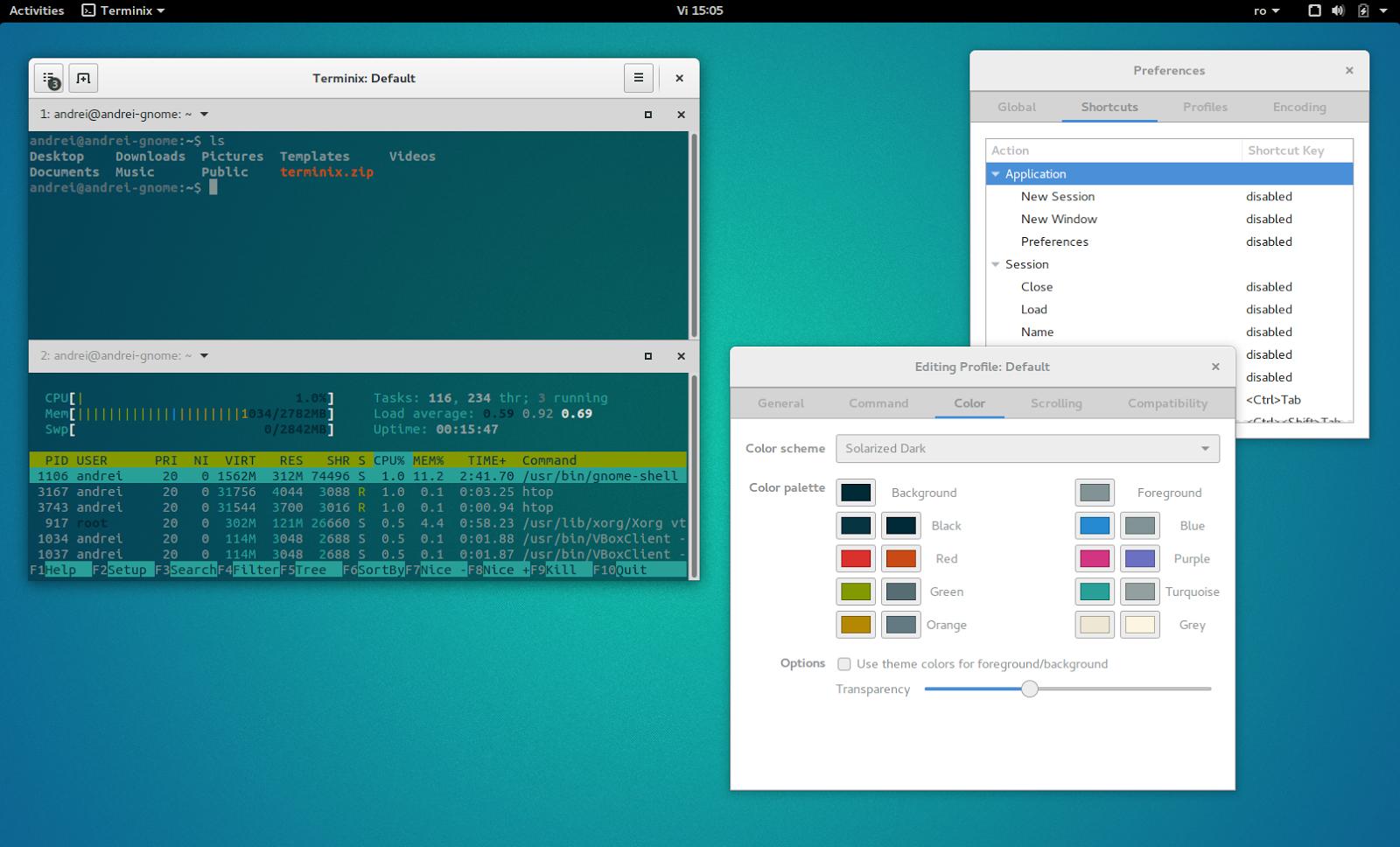 Terminix: Promising New Tiling Terminal Emulator For GNOME 3
