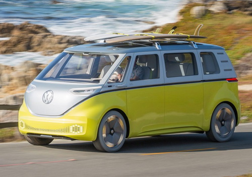 Tinuku Volkswagen I.D. Buzz officially to production in 2019
