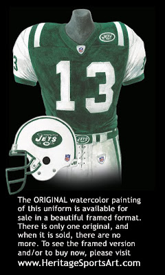 New York Jets 2003 uniform